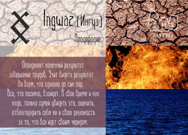 Inguz, Ингуз