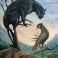посланники сил, приметы, черная кошка, тотем