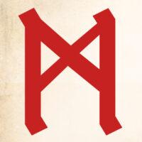 руна маназ, маназ трактовка, маназ значение, маназ толкование, описание руны маназ, символическое значение маназ, манназ