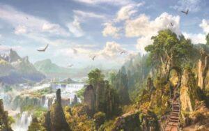 Мир Ванахейм, мир природы, не разделим с человеком, Человек его часть, Природа, земля даёт силы и права
