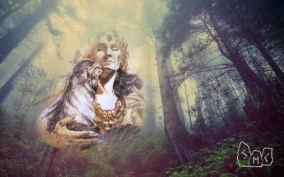 установить связь с богиней природы Фрейей, богиней Артемидой, Ритуалистика, контакт с древними богами, состояние сознания