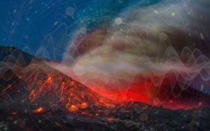 Стихийное пространство ОГОНЬ—ЗЕМЛЯ К ВОЗДУХУ: Огонь-идея пытается изменить реальность, проявленное и материальное бытие — Землю