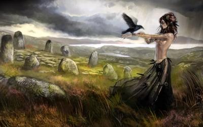 Фрейя - богиня любви и свободы - прекраснейшая и красивейшая богиня скандинавского пантеона, сестра-близнец Фрейра, проекция Нертус и Ньёрда