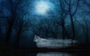 Откуда берутся привидения и призраки? Ритуалы привязывания человека к земле, взывание к хтоническим сущностям, чёрномагического характера