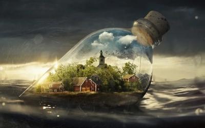Взгляд на реальность в оккультизме пятно Света, которое падает на Тьму - делает Тьму явной, Не проявленная форма как кот Шредингера