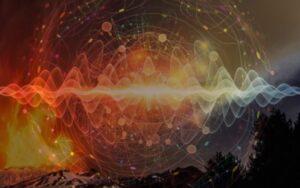Будхиальное пространство, будхиальный план, пространство Огонь - Земля - равное правона доминирование стихий Земли и Огня