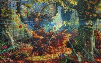 Осеннее Равноденствие - праздник Мабон, древние ритуалы проводов воды. Связь со славянскими богами, с богами природы, с миром духов, леших