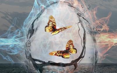 Магическое изменение себя стихиями и получение права собственным разумом изменять реальность. Стихийное движение и обретение целостности